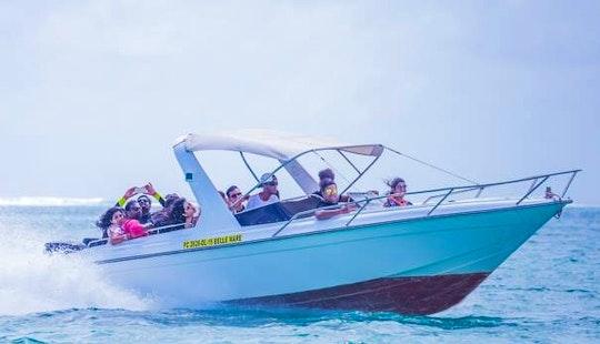 Charter Bowrider In Trou D'eau Douce, Flacq For 18 Pax