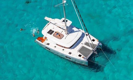 Charter The Lagoon 42 Catamaran In Lefkada, Greece