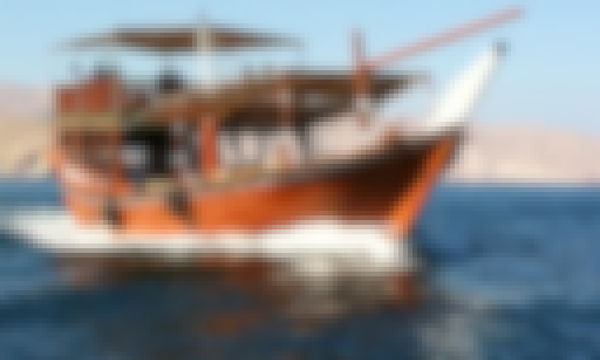 Cruise on a Wooden Boat in Al Khasab