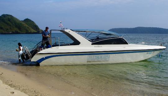 Charter 36' Marine Motor Yacht In Phuket, Thailand