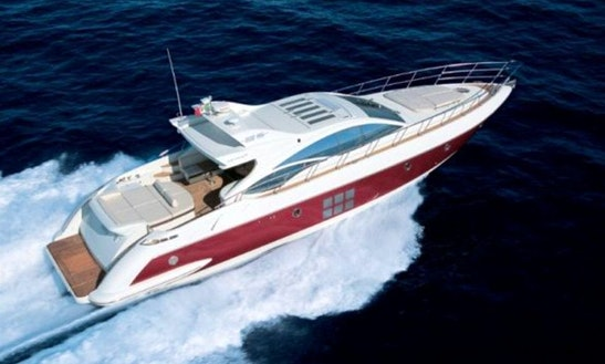Charter 68' Azimut Power Mega Yacht In Dubai, Uae