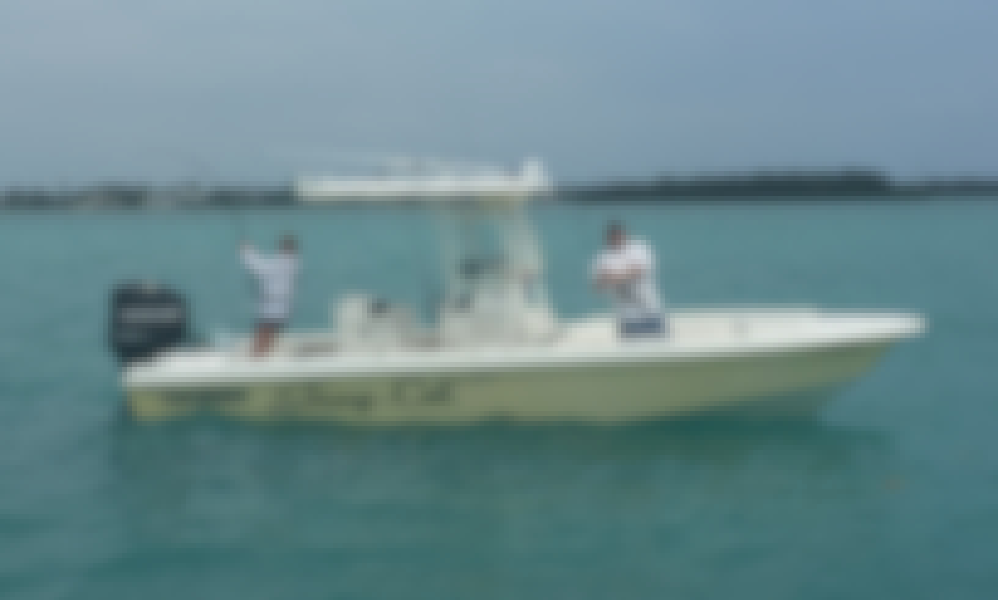 24' Everglades Fishing Charter in Islamorada, Florida (only ½ days and Full days)