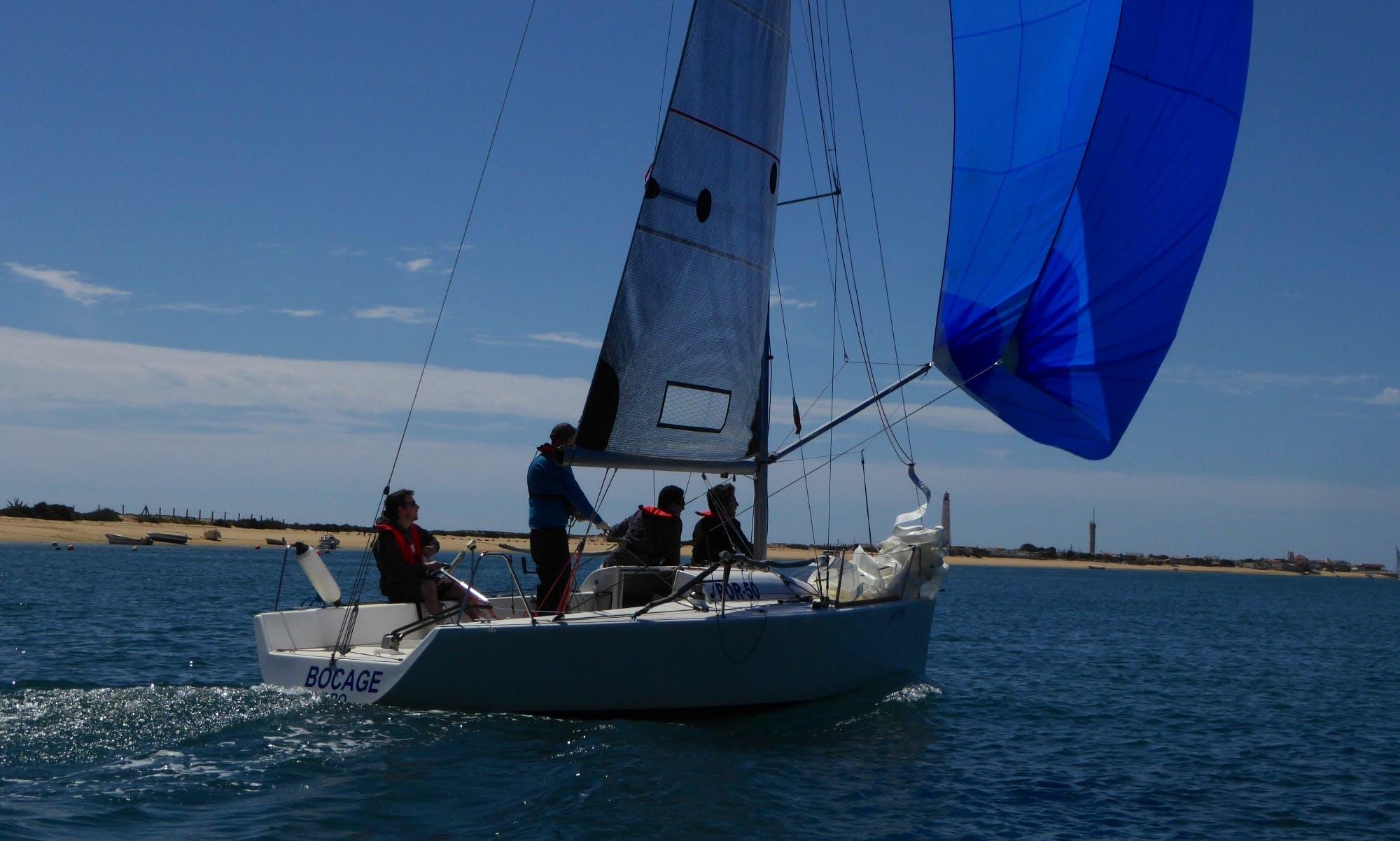 25ft Daysailer Boat Rental In Faro, Portugal