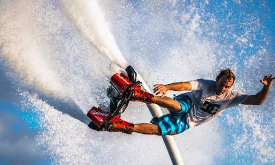 Enjoy Flyboarding In Bali, Indonesia