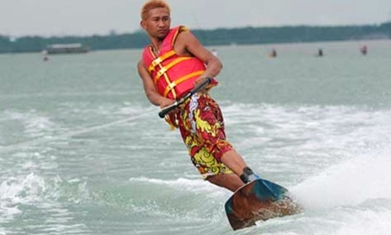 Enjoy Wakeboarding In Bali, Indonesia