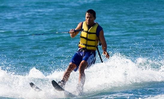 Enjoy Water Skiing In Bali, Indonesia