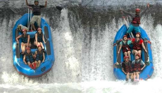 Enjoy Rafting In Bali, Indonesia