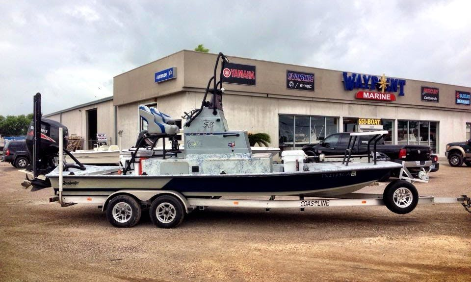 24' Center Console Fishing Trips in Rockport, Texas United States