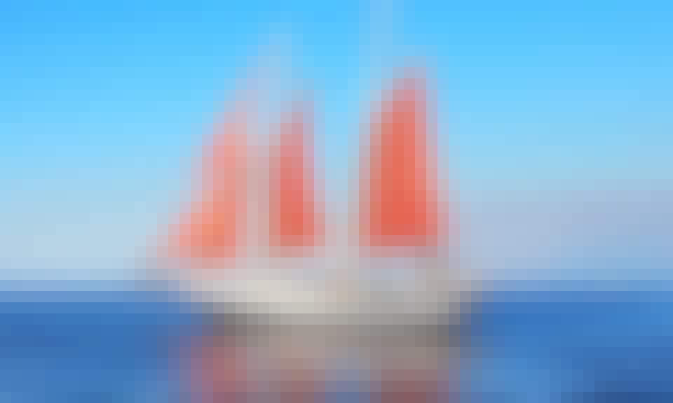 """Charter 55ft """"Capt. Kidd"""" Topsail Schooner In Seabrook, Texas"""