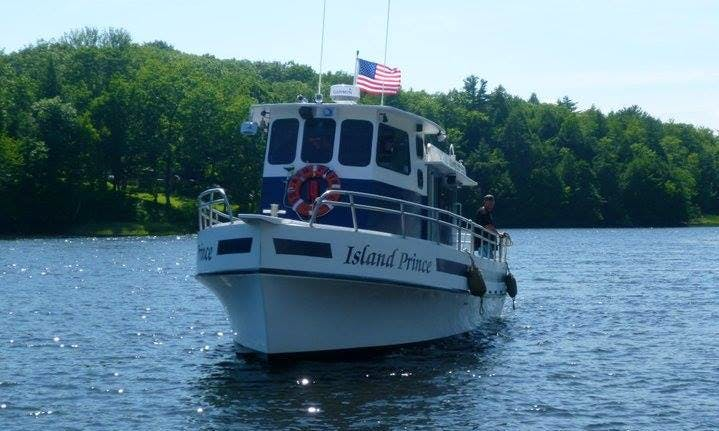 "Charter our 35 Passenger ""Island Prince"" Party/Fishing Boat For Any Occasion!"