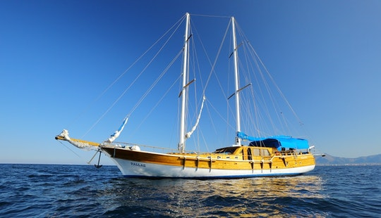 Charter 78' Pallas Sailing Gulet In Palermo, Italy