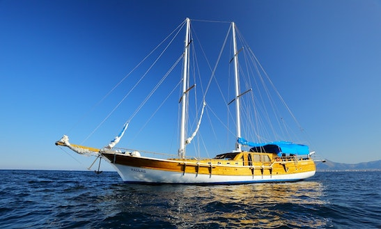 Charter 78' Pallas Gulet In Palermo, Italy
