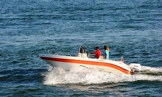 "21ft ""Vittoria Matu"" Power Yacht Rental in Agadir, Morocco"