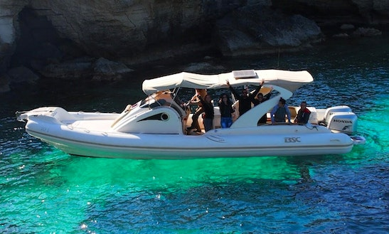 Enjoy Fishing In Paphos, Cyprus On Rigid Inflatable Boat