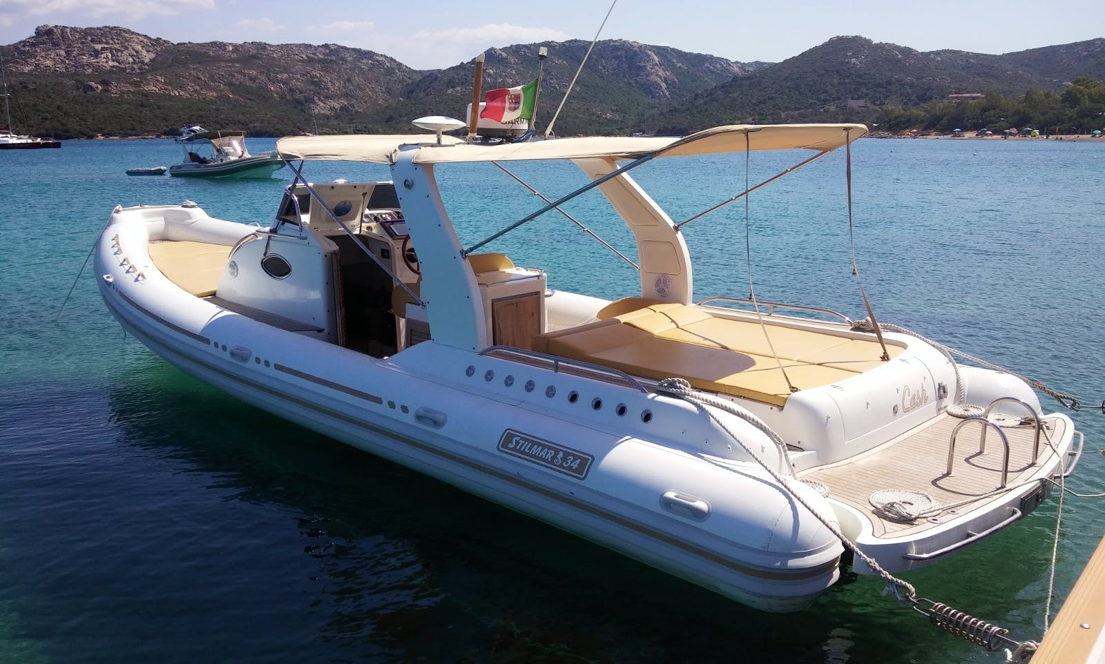 Stilmar F34 Rigid Inflatable Boat with Skipper in Salerno