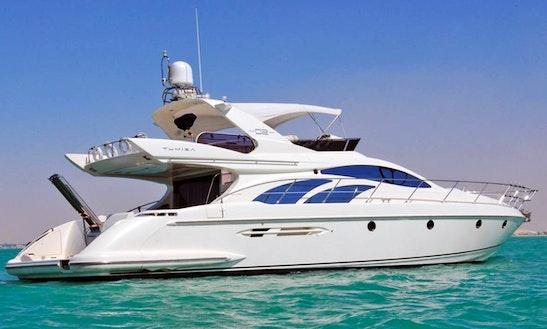 50ft Azimut Dubai  Charter