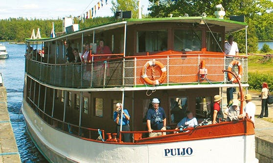 Enjoy Cruising in Savonlinna, Finland on Passenger Boat