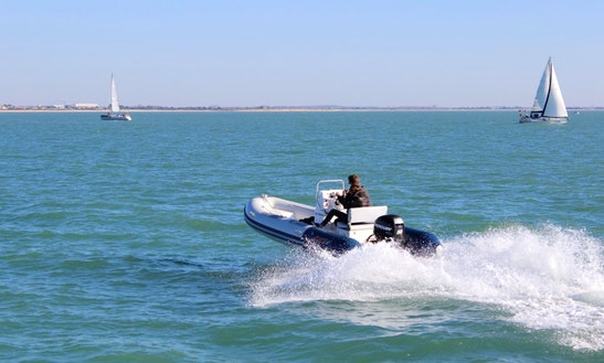 Rent 16' Valiant V500 Rigid Inflatable Boat In La Rochelle, France