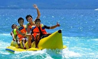 Enjoy Banana Rides in South Kuta, Bali