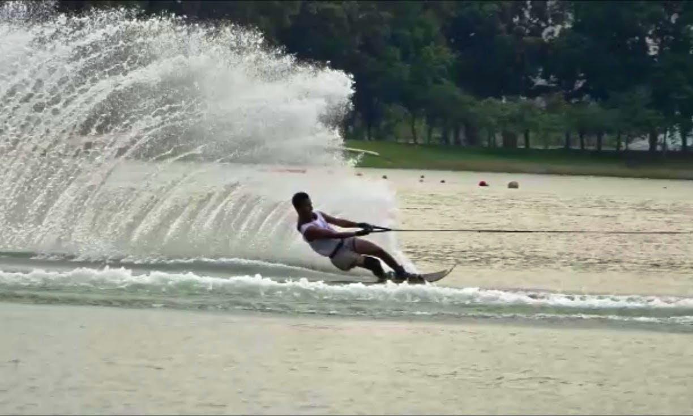 Enjoy Water Skiing in South Kuta, Bali