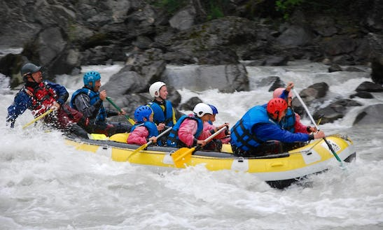 Rafting Trips Ideal For Children In Guillestre, Provence-alpes-côte D'azur