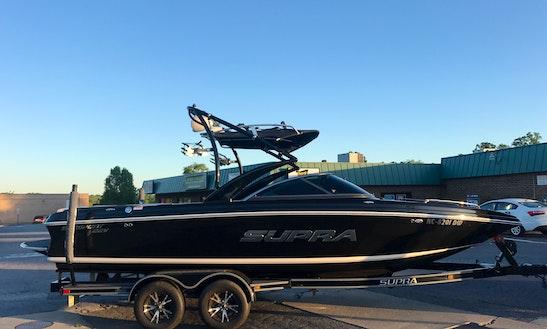 Supra Sunsport 22v Rental On Lake Hickory