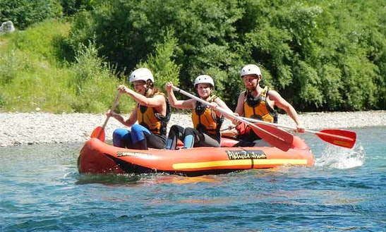 Enjoy Mini Rafting Tours In Fischen Im Allgäu, Bavaria