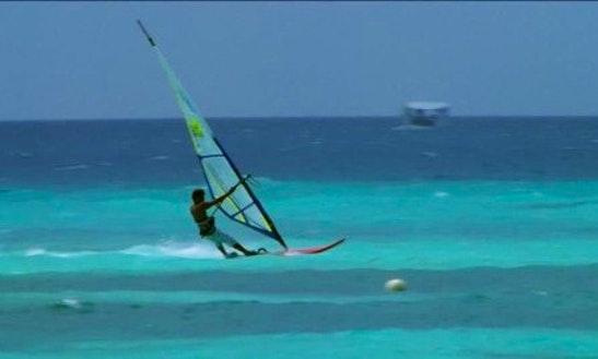 Enjoy Windsurfing Lessons In Amilla Fushi, Republic Of Maldives