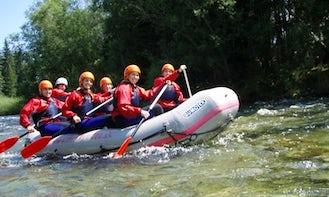 Enjoy Rafting Trips on Bela River in Liptovský Hrádok, Slovakia