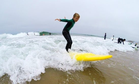 Enjoy Surf Lessons In Cascais, Portugal