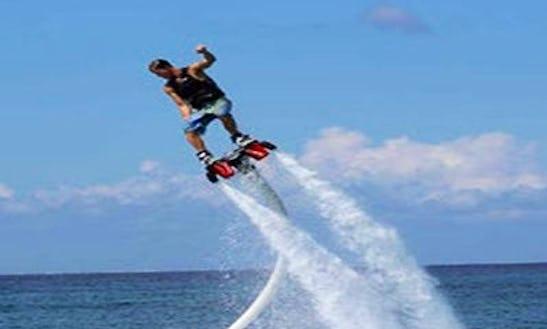Enjoy Flyboarding In Le Verdon-sur-mer, France