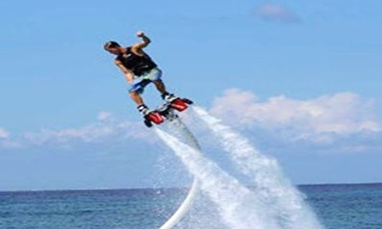 Enjoy Flyboarding In Le Verdon-sur-mer, France