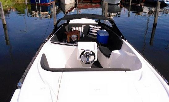 Rent Oudhuijzer 575 Luxury Cuddy Cabin In Zeewolde, Netherlands