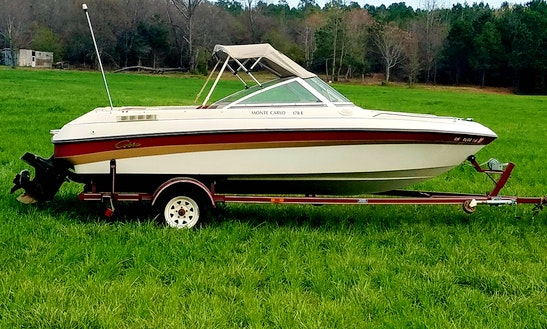 Rent 18' Monte Carlo Bowrider In Fair Play, South Carolina