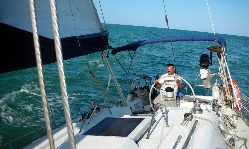 39ft Cruising Monohull Boat Rental in Carboneras, Spain