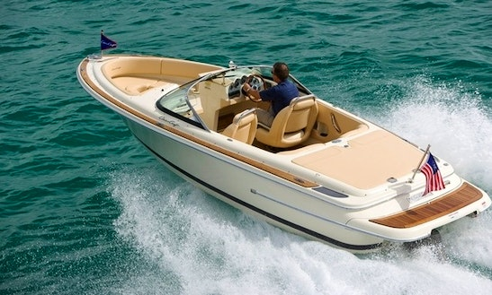 Rent 22' Chris Craft Launch Bowrider In Mount Lebanon Governorate, Lebanon