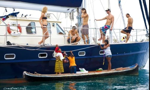 "Sailing Charter On 64ft ""Quest"" Sailing Mega Yacht In Portobelo, Panama"