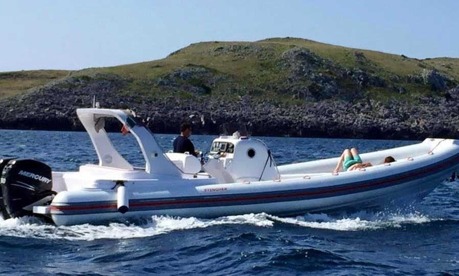 Stingher 32 RIB in Otranto
