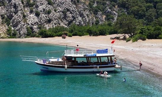 Enjoy Sightseeing In Antalya, Turkey On Motor Yacht