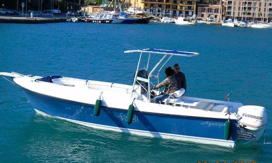 Charter 25' Aquasport Ccp Center Console In Porto Ercole, Toscana
