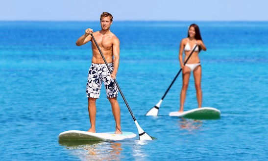 Enjoy Stand Up Paddleboard Courses In Biarritz, Nouvelle-aquitaine