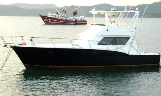 44' Hatteras Sports Fisherman In Playa Flamingo, Costa Rica