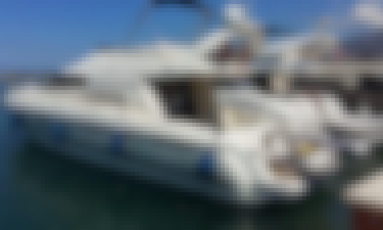 Charter 40' Cranchi Atlantique Motor Yacht in Tirana, Albania
