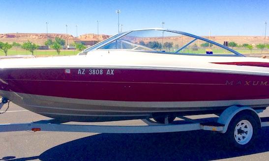 19' Maxum Bowrider Rental In Page Arizona, United States