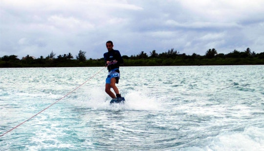 Wakeboarding In Mahebourg, Mauritius