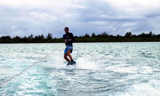 Enjoy Wakeboarding In Mahebourg, Mauritius
