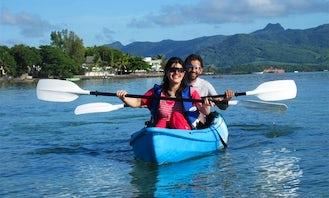 Double Kayak in Mahebourg, Mauritius