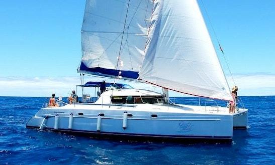 32 Person Sailing Catamaran For Charter In Riviere Du Rempart, Mauritius