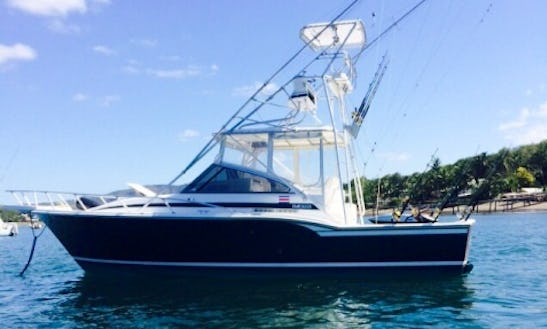 33'  Blackfin Express Sports Fisherman In Playa Flamingo, Costa Rica