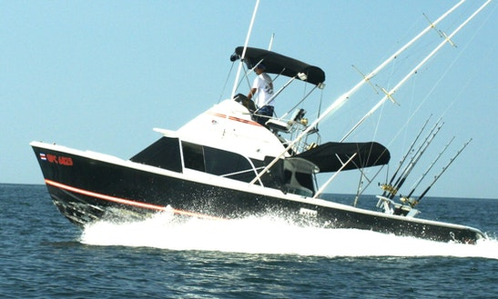 31' Bertram Sports Fisherman In Playa Flamingo, Costa Rica